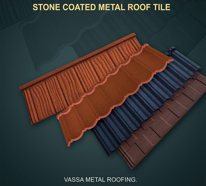 Vassa Stone Coated Metal Roofing Tiles Photo Gallery